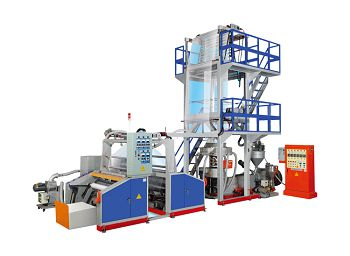 this is a picture of stretch film & cling film extrusion lines