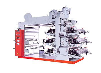 this is a picture of our flexo printing machine