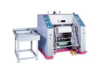 this is a picture of our stretch film rewinding machines