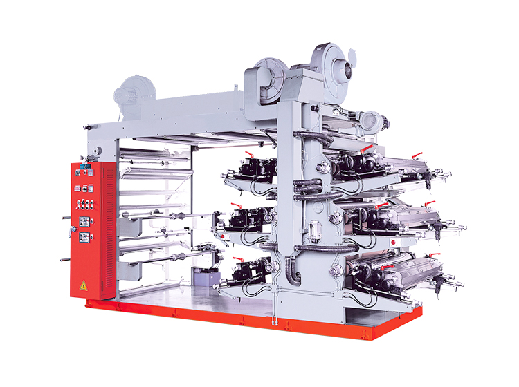 6 Color Flexographic High Speed Printing Machine product image